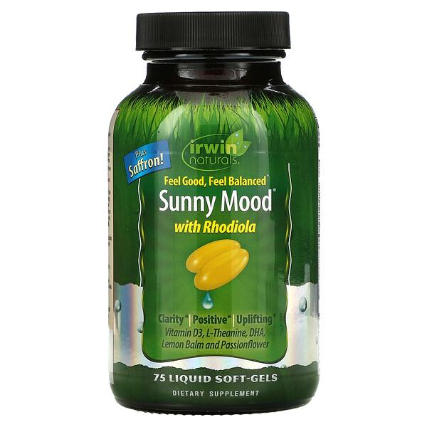 Sunny Mood، به 75 كبسولة هلامية سائلة