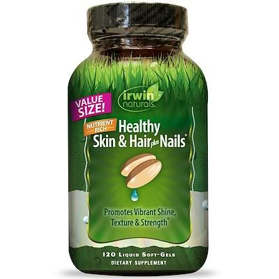 Купить Здоровая кожа и волосы плюс ногти, 120 жидких гелевых капсул