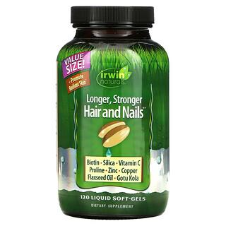 Irwin Naturals, Healthy Skin & Hair Plus Nails, 120 Liquid Soft-Gels