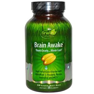 Ирвин Натуралс, Brain Awake, 60 Liquid Soft-Gels отзывы покупателей