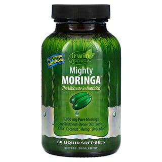 Irwin Naturals, Mighty Moringa, Trommelstockbaum, 60 weich-flüssige Gelkapseln