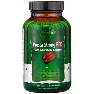 Irwin Naturals, Prosta-Strong RED, 80 мягких капсул с жидкостью