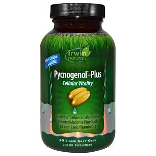 Irwin Naturals, Pycnogenol-Plus Cellular Vitality, 50 Liquid Soft-Gels