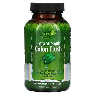 Irwin Naturals, Colon Flush, повышенная сила действия, 60 капсул с жидкостью