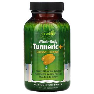 Irwin Naturals, Whole-Body Turmeric+, 60 Liquid Soft-Gels