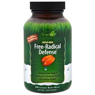 Irwin Naturals, Super-Orac Free-Radical Defense, 60 Liquid Soft-Gels