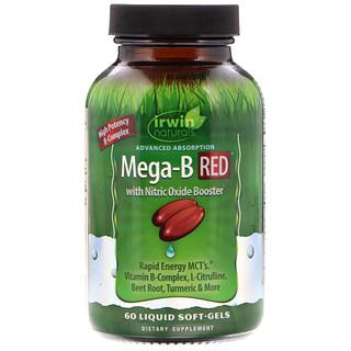 Irwin Naturals, Advanced Absorption Mega-B RED, 60 Liquid Soft-Gels