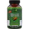 Irwin Naturals, 2 in 1 Kidney & Liver Super Cleanse, 60 Liquid Soft-Gels