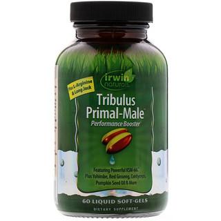 Irwin Naturals, Tribulus Primal-Male, 60 Liquid Soft-Gels