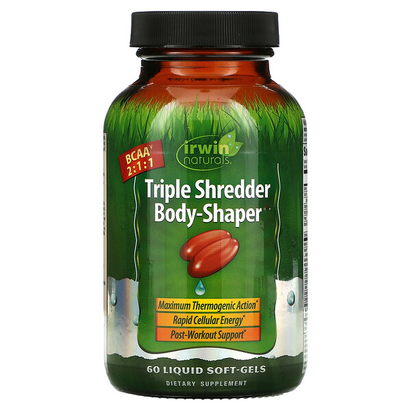 Triple Shredder Body-Shaper, 60 Liquid Soft-Gels