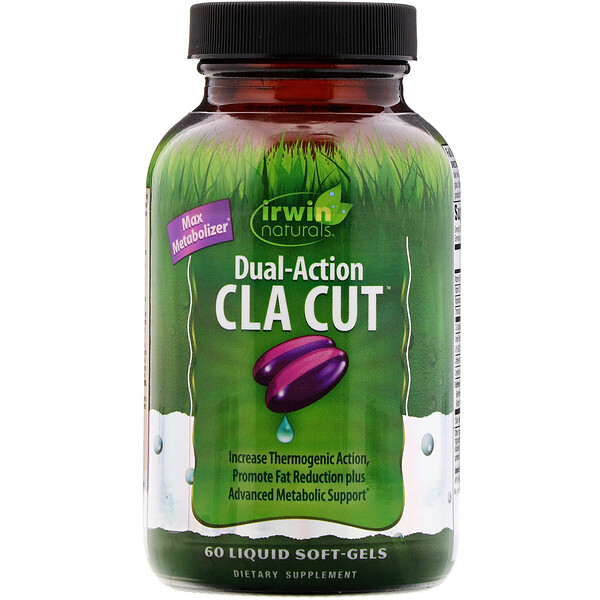 Irwin Naturals, Dual-Action CLA Cut, 60 Liquid Soft-Gels