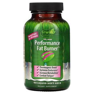 Irwin Naturals, V02 Max, Performance Fat Burner, 60 Liquid Soft-Gels