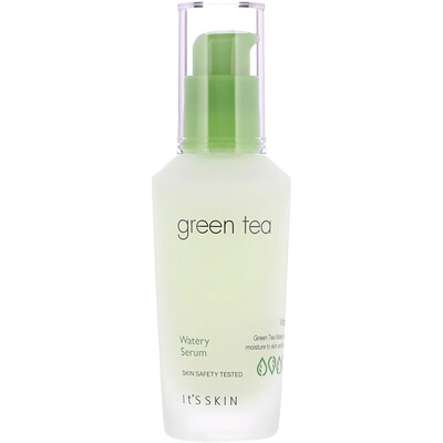 Купить It's Skin Green Tea, Watery Serum, 40 ml
