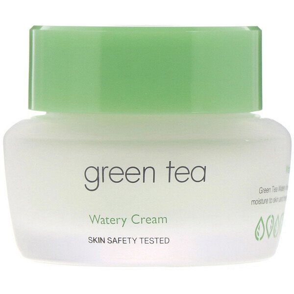Green Tea, Watery Cream, 50 ml
