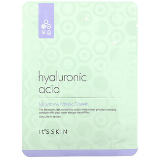It's Skin, Hyaluronic Acid, Moisture Mask Sheet, 1 Sheet Mask, 17 g