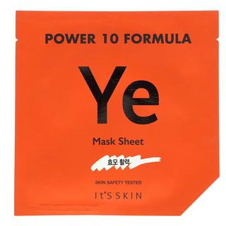 It's Skin, Power 10 Formula, YE Mask Sheet, Vitality, 1 Sheet Mask, 25 ml