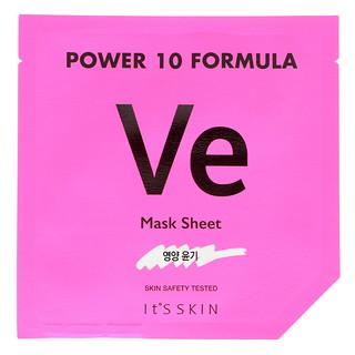 It's Skin, Power 10 Formula, VE Mask Sheet, Glow, 1 Sheet Mask, 25 ml