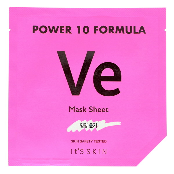 It's Skin, Power 10 Formula, VE Mask Sheet, Glow, 1 Sheet Mask, 25 ml