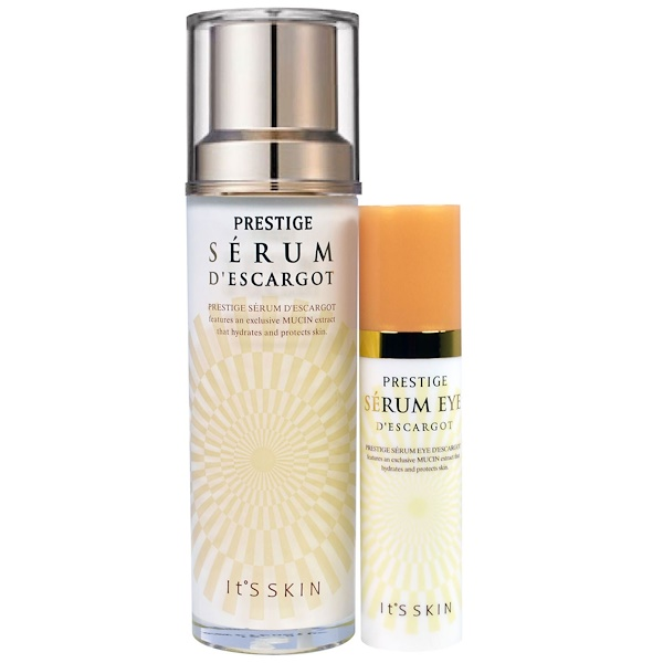 It's Skin, Prestige, Serum D'Escargot, 2 Piece Set, 15 ml + 40 ml (Discontinued Item)