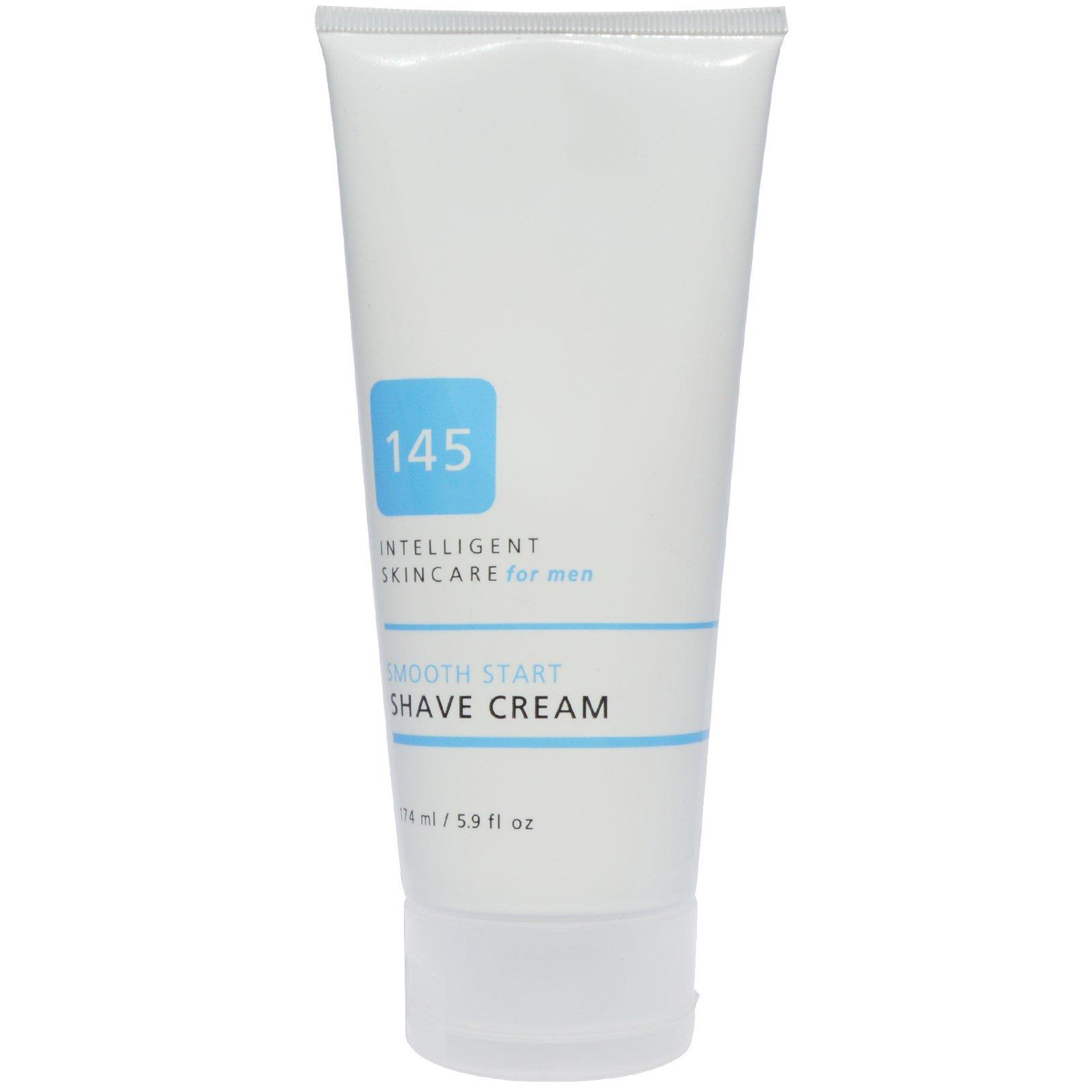 145 Intelligent Skincare for Men, Smooth Start, Shave Cream, 5.9 fl. oz.