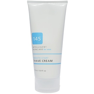 145 Intelligent Skincare for Men, Smooth Start Shave Cream, By Earth Science, 5.9 fl oz (174 ml)