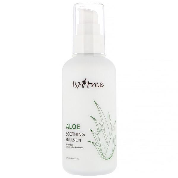 Isntree, Aloe Soothing Emulsion, 4.06 fl oz (120 ml)