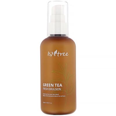Купить Isntree Green Tea Fresh Emulsion, эмульсия, 120мл (4, 06жидк. унции)