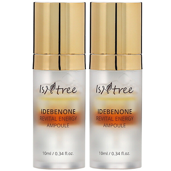 Idebenone Revital Energy Ampoule, 2 Pack, 0.34 fl oz (10 ml) Each