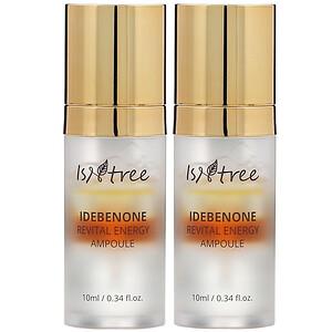 Isntree, Idebenone Revital Energy Ampoule, 2 Pack, 0.34 fl oz (10 ml) Each отзывы