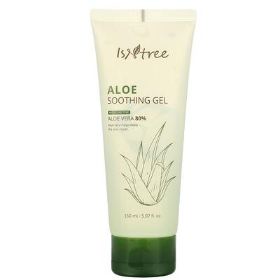 Isntree Aloe Soothing Gel, 80% Aloe Vera, 5.07 fl oz (150 ml)  - купить со скидкой