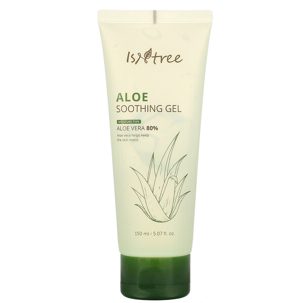 Aloe Soothing Gel,  Aloe Vera 80%, 5.07 fl oz (150 ml)