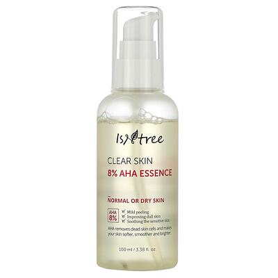 Купить Isntree Clear Skin 8% AHA Essence, эссенция, 100мл (3, 38жидк. унции)