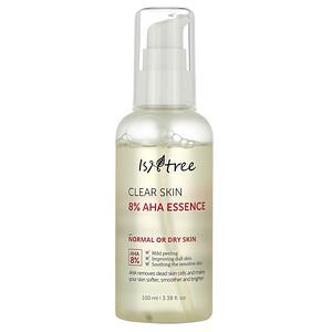 Isntree, Clear Skin 8% AHA Essence, 3.38 fl oz (100 ml) отзывы покупателей