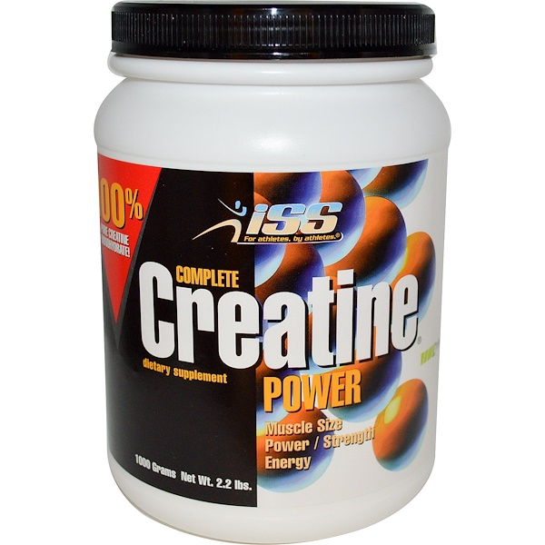 ISS Research, Complete Creatine Power, 2.2 lbs (1000 g) (Discontinued Item)