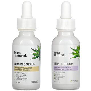 InstaNatural, Day & Night Skin Duo, 2 Bottles, 1 oz (30 ml) Each