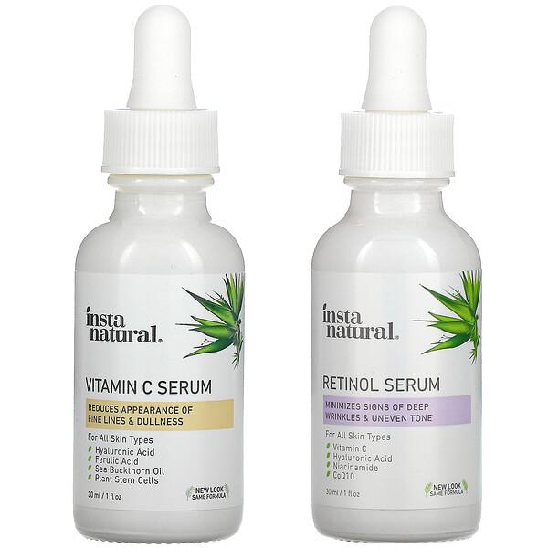 Day & Night Skin Duo, 2 Bottles, 1 oz (30 ml) Each