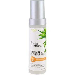 InstaNatural, Vitamin C Moisturizer, SPF 30, 1.7 fl oz (50 ml)