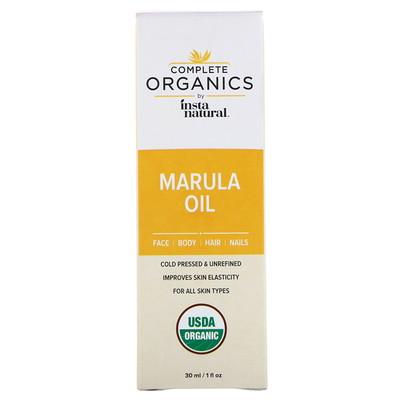 Купить Complete Organics, маруловое масло, 1 жидкая унция (30 мл)