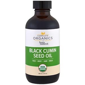 Инстанатурал, Complete Organics, Black Cumin Seed Oil, 4 fl oz (120 ml) отзывы покупателей