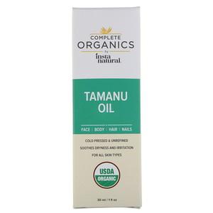 Инстанатурал, Complete Organics Tamanu Oil, 1 fl oz (30 ml) отзывы покупателей