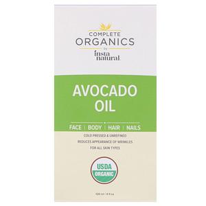 Инстанатурал, Complete Organics Avocado Oil, 4 fl oz (120 ml) отзывы