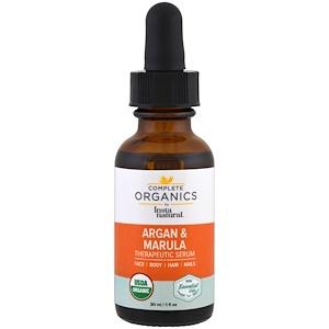 Инстанатурал, Complete Organics Argan Marula Oil Therapeutic Serum, 1 fl oz (30 ml) отзывы
