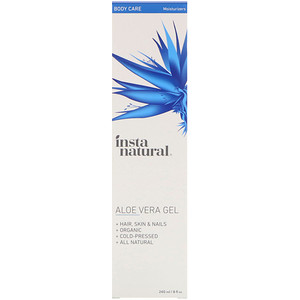 Инстанатурал, Aloe Vera Gel, 8 fl oz (240 ml) отзывы покупателей
