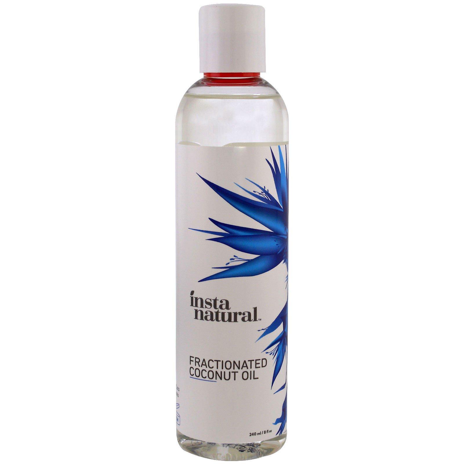 InstaNatural, Фракционированное кокосовое масло, 240 мл (8 жид. ун.)