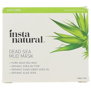 InstaNatural, Dead Sea Mud Mask, Facial Mask for Acne & Blemishes, 8 oz (240 ml)