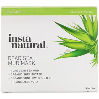 InstaNatural, 死海マッドマスク、ニキビ・シミ用のフェイシャルマスク、8 oz (240 ml)