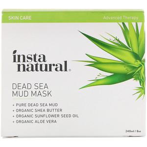 Инстанатурал, Dead Sea Mud Mask, 8 oz (240 ml) отзывы покупателей