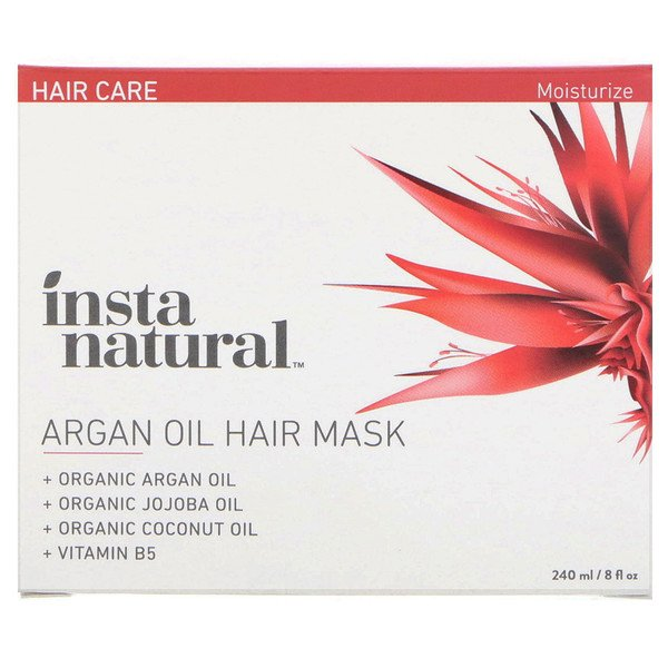 InstaNatural, Argan Oil Hair Mask, 8 fl oz (240 ml) (Discontinued Item)