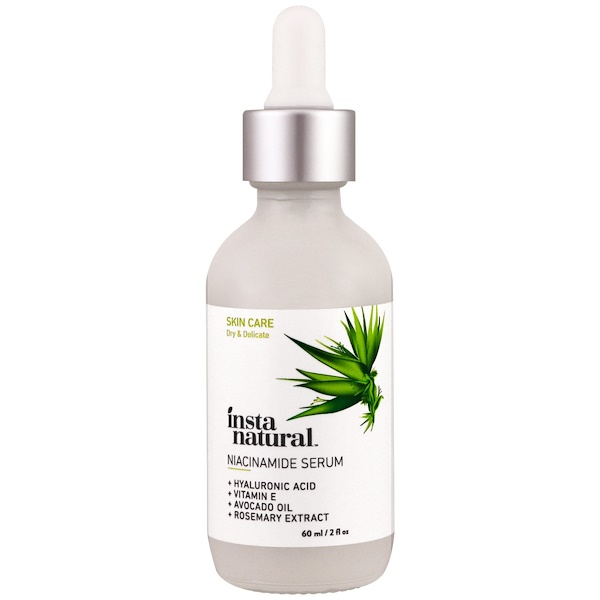 InstaNatural, Niacinamide Vitamin B3 Serum, Dark Spot Serum, 2 fl oz (60 ml)