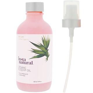 InstaNatural, Organic Rosehip Oil, 4 fl oz (120 ml)